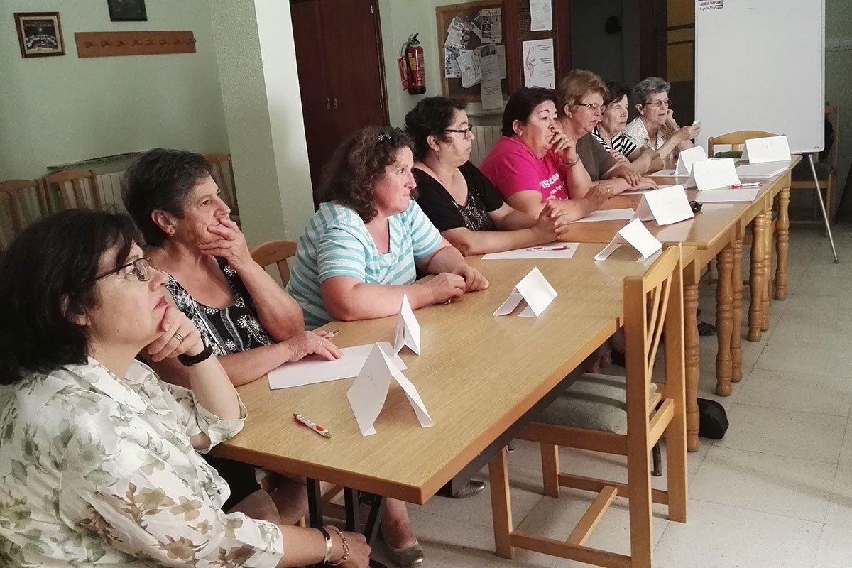ISMUR CASTILLA Y LEÓN - Taller Igualdad de oportunidades entre hombres y mujeres - Aldea-Real