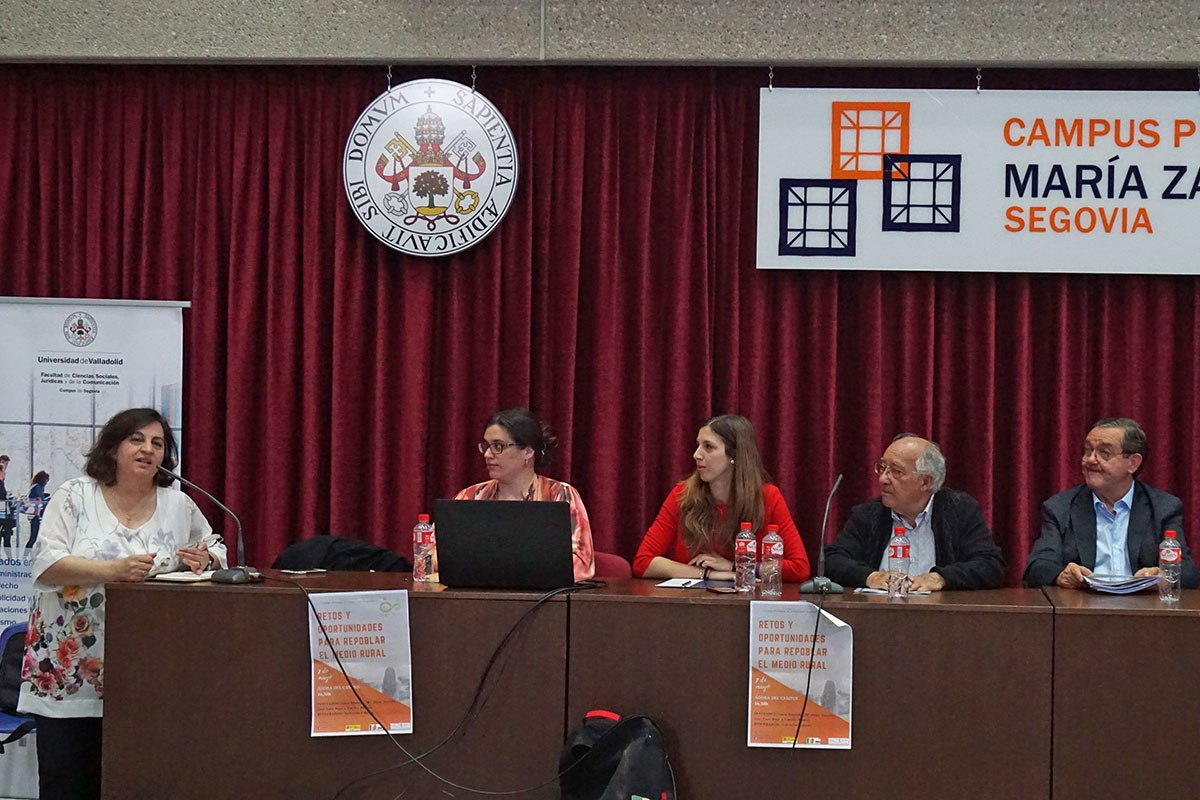 Jornada Retos y oportunidades para repoblar el medio rural - Campus María Zambrano UVA en Segovia