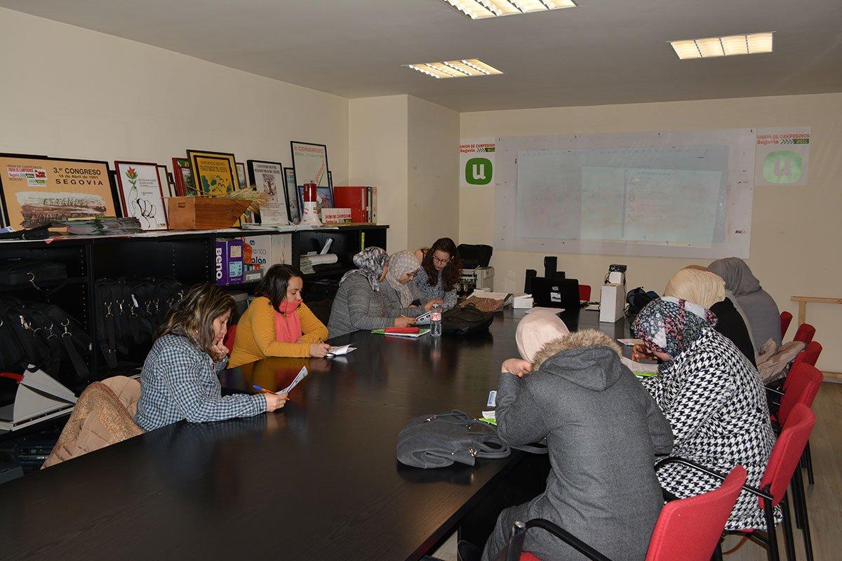MUJER Y ECONOMÍA SOCIAL - Taller Igualdad de oportunidades entre hombre y mujeres - Segovia