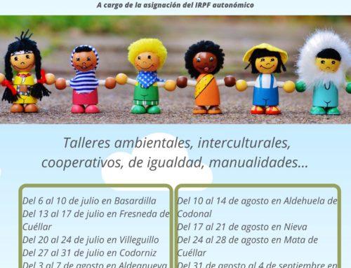 Dan comienzo los talleres de ocio infantil con Escuelas Campesinas de Segovia