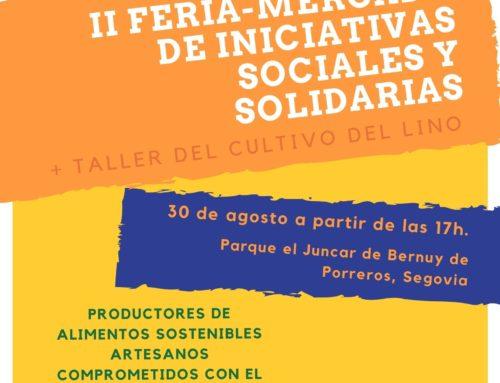 II FERIA-MERCADO DE INICIATIVAS SOCIALES Y SOLIDARIAS