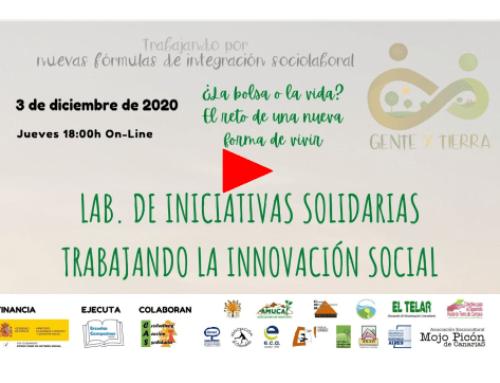 Estrenamos vídeo del último encuentro de Iniciativas Solidarias